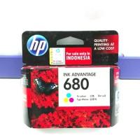 TINTA PRINTER ORIGINAL HP 680 Colour