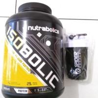 Nutrabolic isobolic 5 lb Whey free Botol shaker
