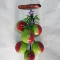 buah gantung . buah hiasan dinding