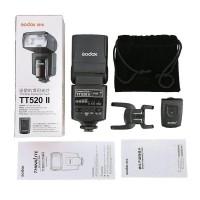 Flash Godox TT520 II + Wireless Trigger