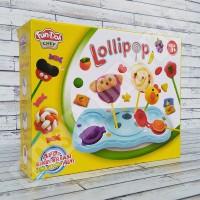 Fun Doh Permen Lollipop - Lilin Mainan Anak Play FunDoh PlayDoh