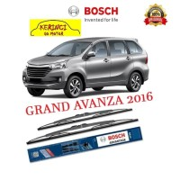 "WIPER TOYOTA GRAND AVANZA 2016 BOSCH ADVANTAGE 21 & 16"" SEPASANG"