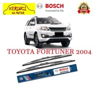 "WIPER TOYOTA FORTUNER 2004 BOSCH ADVANTAGE 21"" & 19"" SEPASANG WIPER"