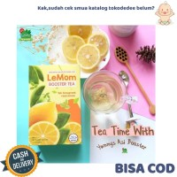TokoDedee - Lemom Boster Tea / Minuman Lemon Boster Pelancar ASI