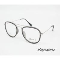 Frame Kacamata Minus Vintage Aviator Keren Pria Wanita