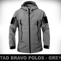 JAKET TAD BRAVO POLOS GREY