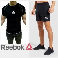 Stelan Kaos CPC REEBOK+ CELANA SPORT Olahraga fitnes Baju gym running