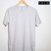 Kaos Polos MISTY [WHITE/Putih] 100%