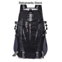 Tas Ransel Backpack Outdoor Pria Wanita Anti Air / Tas Hiking - Hitam