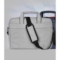 Tas Laptop 14 inch Softcase Sleeve Slempang Macbook waterproof - Grey