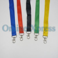 Gantungan ID Card - Tali Badge ID Nylon Hook 2cm Combo