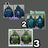 Unik Jaket parasut Gojek Bordir Limited