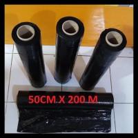 Terlaris!! Plastik Wrapping Hitam (50 Cm X 200 M)