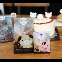 Terlaris!! Plastik Fancy Cookies - Kue - Permen - Accessories Doff Cat