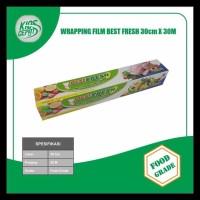 Terlaris!! Plastik Wrapping Makanan Best Fresh Uk. 30Cm X 30M