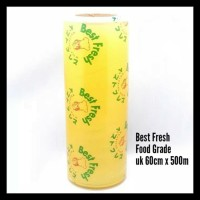 Terlaris!! Plastik Wrapping Makanan 60Cm X 500M ( Food Grade ) Merk