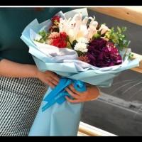 Terlaris!! Flower Wrapping / Flower Wrap / Kertas Bunga Waterproof