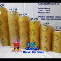 Terlaris!! Plastik Wrapping Buah Best Fresh Food Grade Ukuran 30 Cm X