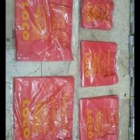 Terlaris!! Kantong Kresek Merah Tebal Merk Loco Isi 500 Gram