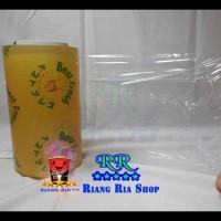 Terlaris!! Plastik Wrapping Buah Best Fresh Food Grade Ukuran 20 Cm X