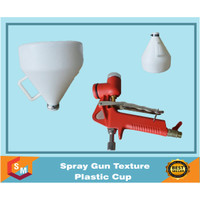 Jual Spray Gun Texture Plastic Cup | Spray Cat Tekstur