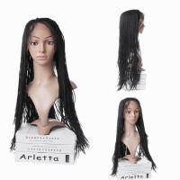 Wig / Rambut Palsu Panjang Model Kepang Warna Gradasi U Wanita