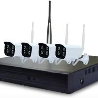 Wireless CCTV IR Camera HD+Wireless DVR-NVR 4CH 2,4Ghz OpXz16910
