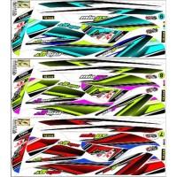 Striping Motor Mio GT Yamaha Stiker decal motor full body
