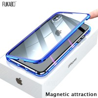 P Magnetic Attraction Case For iPhone 11 X Xr Xs Max 6 6s 7 8 Plus