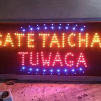 outdor led sign - tulisan lampu led outdor sate taichan tuwa OpXz16836