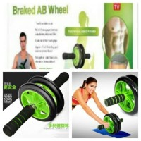 Wheels with brake alat roda gym