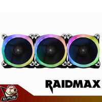 Raidmax NV-R120FBR3 Addressable RGB LED Control Pack 120mm 3 Fan
