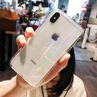 Iphone 6 6s 7 8 Plus X XS Max Soft Case Fuze Clear Aurora