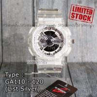 LIMITED EDITION !!! G Shock GA-110 Transparan Putih Jam tangan pria