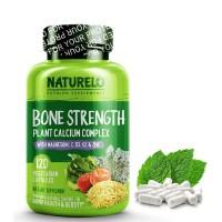 Naturelo Bone Strength 120s Plant Calcium Complex U/ Kesehatan Tulang