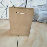 paper bag/paperbag/kantong belanja uk. 13x18x6.5 cm