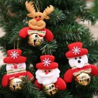 XDGB dekorasi ornamen pohon natal aksesoris gantungan christmas santa