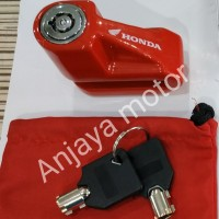 gembok kunci cakram motor AHM untuk semua motor