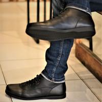 Sepatu Boots Brodo Pria Kulit Asli Premium BRADLEYS FOSTER BROWN ORI