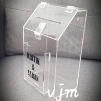 Acrylic Kotak Saran,Kritik&Saran (017 print)