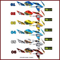 Sticker / Striping Variasi Vixion New / NVA / NVL (SHARK)