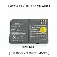 Baterai Original SmartWatch YX-W8B / YXW8B / Y1 PRO / Y1PRO / T11 YQY1