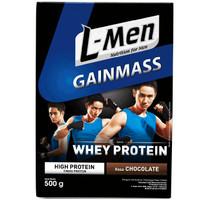 L-Men Gain Mass 500gr Lmen Gainmass Susu Whey Protein Suplemen Fitness