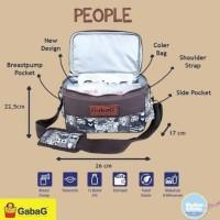 Gabag Sling Series People Cooler Bag Tas Asi
