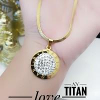 titanium kalung wanita 103p17