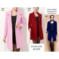 plain Coat Blazer (W354)