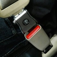 colokan safety belt seat belt trd 2 in 1 mobil all new rush