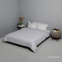 King Rabbit Bed Cover Double 230x230 cm Gaultier Putih
