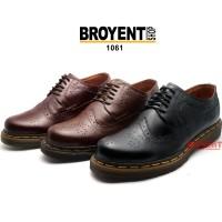 Sepatu Pria Low Boots Docmart Classis Kulit Sapi Asli 1061
