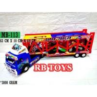 MAINAN TRUCK SUPER TRAILER + MOTOR MB-113